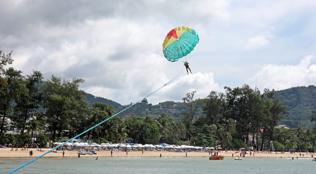 Parasailing, Patong Beach, Phuket
