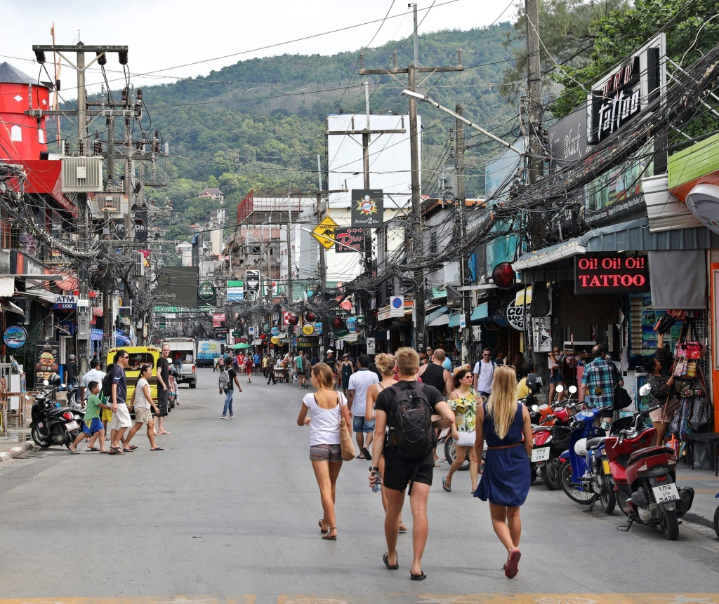 Patong Town, Phuket