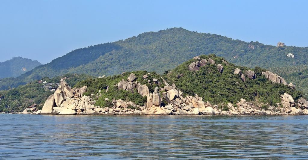 Coastline of Koh Tao