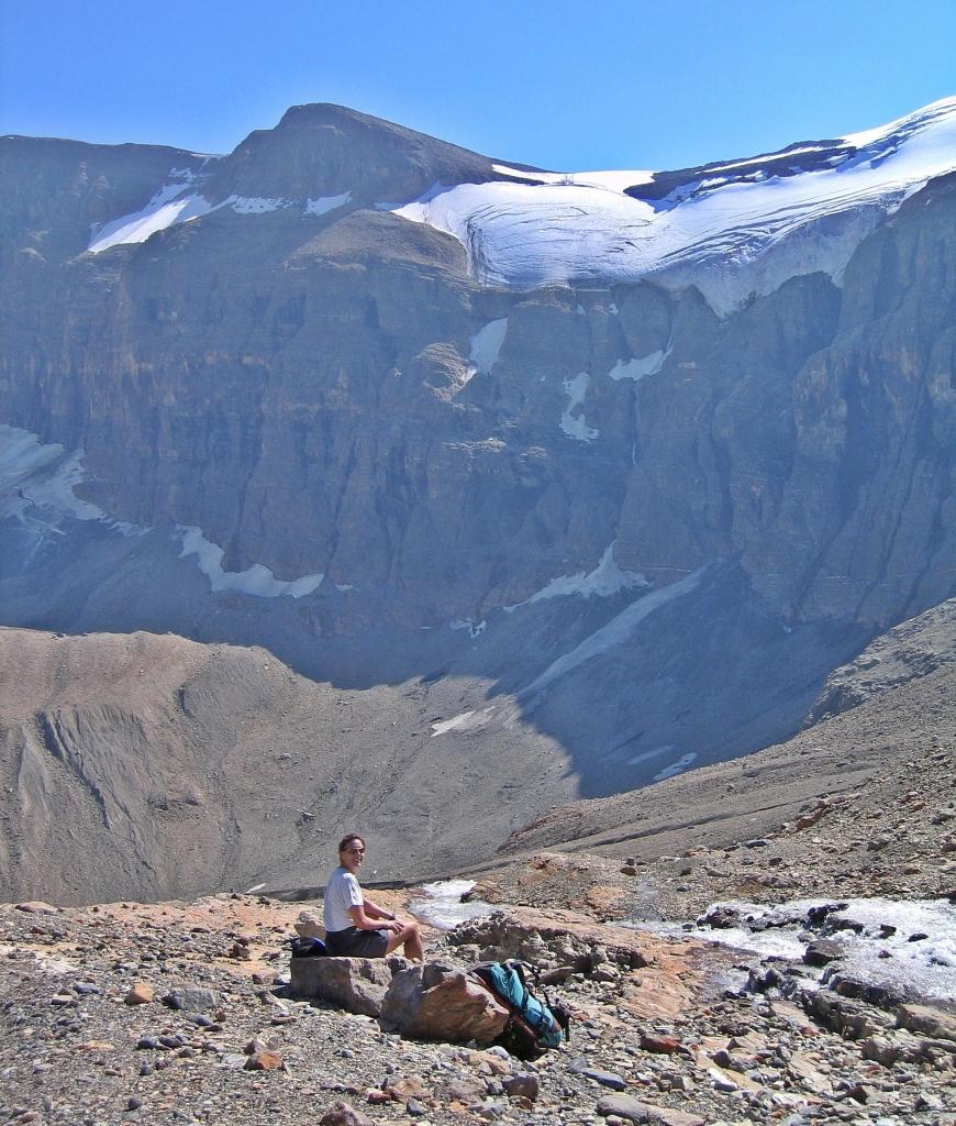 Below Bow Hut, Banff National Park