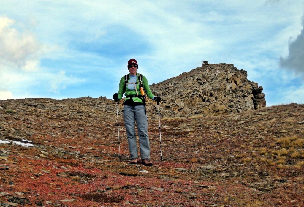 Below the summit, Castle Mountain,Banff Natonal Park