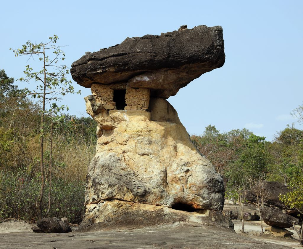Rock Formation, Phra Phubat Historic Park