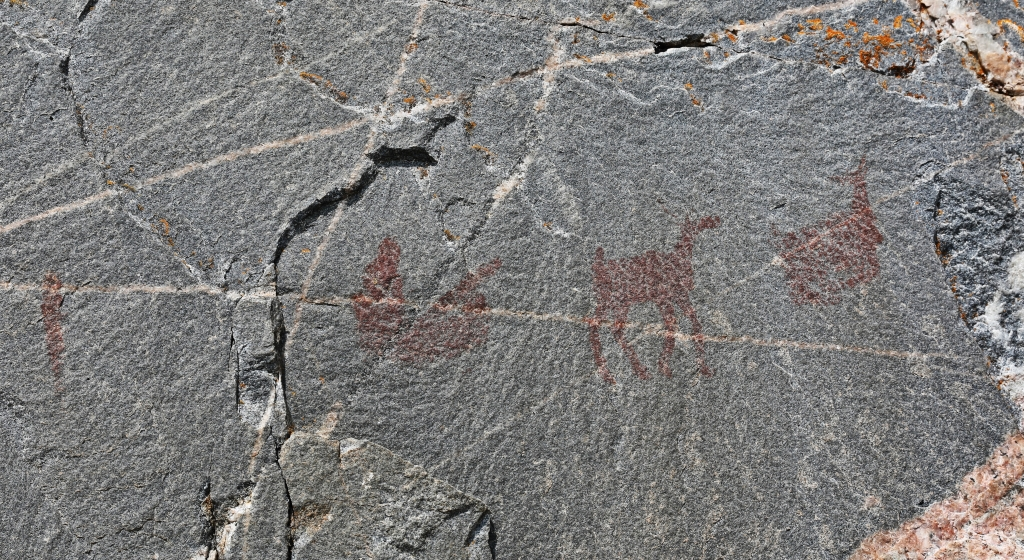Pictographs, Agawa Rock, Ontario