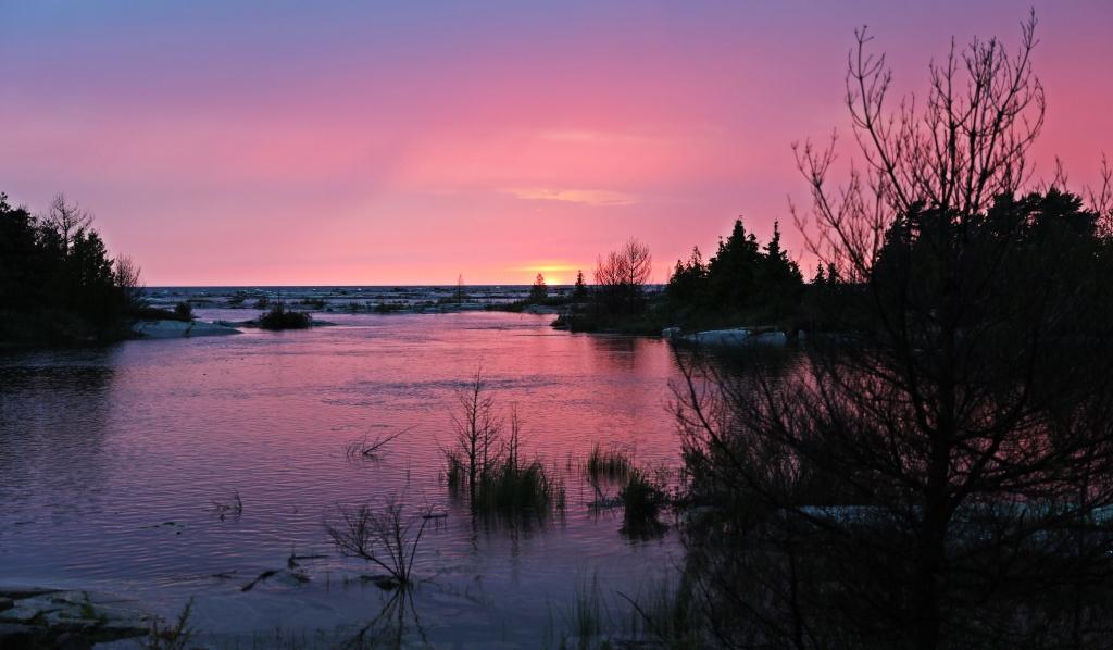 Sunset, Georgian Bay, Ontario