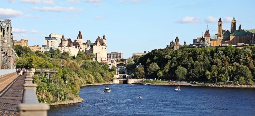 Chateau Laurier, Rideau Locks, Parliament Hill, Ottawa