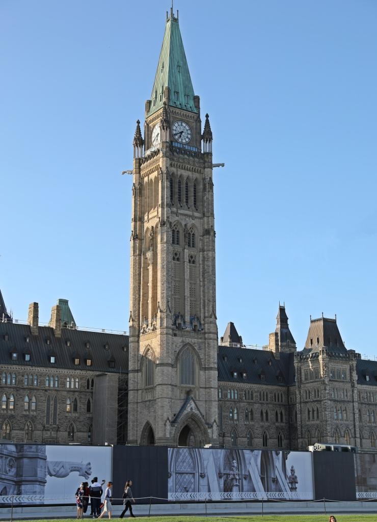 Centre Block, Parliament Buildings, Ottawa
